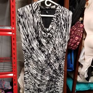 Kenneth Cole black and white dress size S